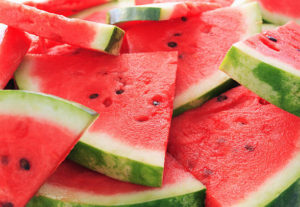 Watermelon.Shallow dof.