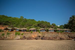Premium Sea View Cottage - Viewed from the Beach