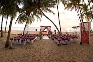 Beach Wedding at Blue Lagoon Goa
